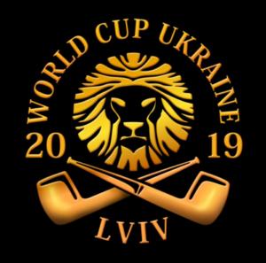 Logotipo de la Copa del Mundo de Fumada de Ucrania